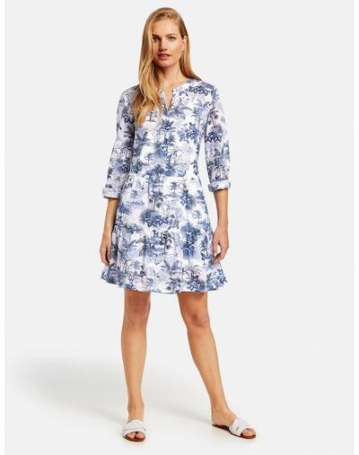 GERRY WEBER Kleid in blau / weiß, Modelansicht