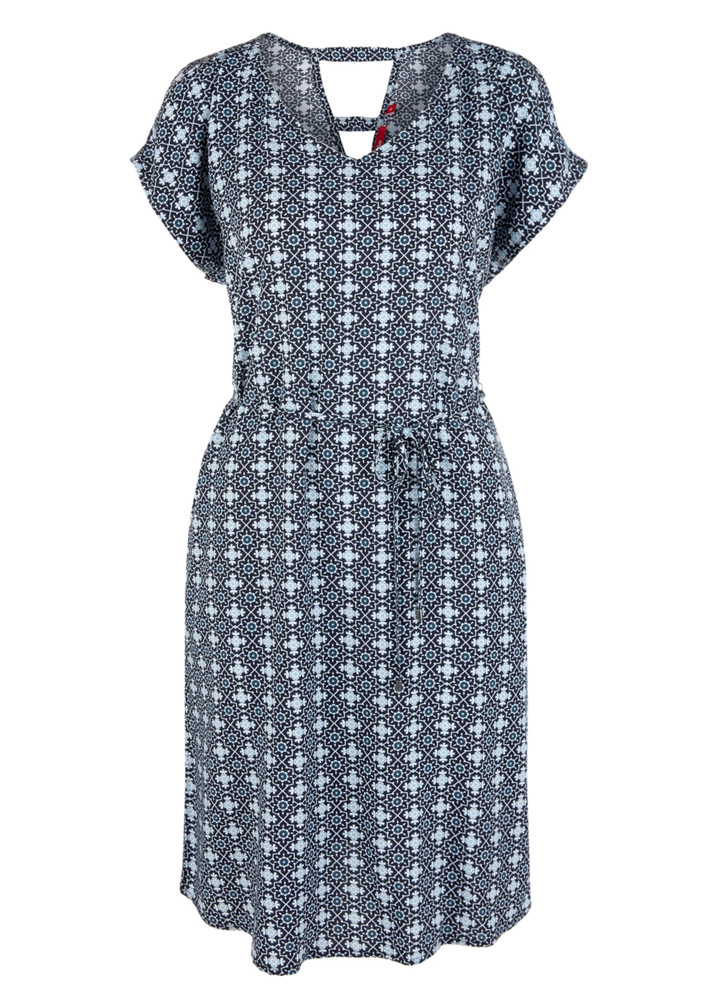 In oliver oliver Kleid Kleid S S NachtblauHellblau 0O8nwPXk