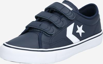 CONVERSE Sneaker 'STAR REPLAY 3V OX' in schwarz / weiß: Frontalansicht