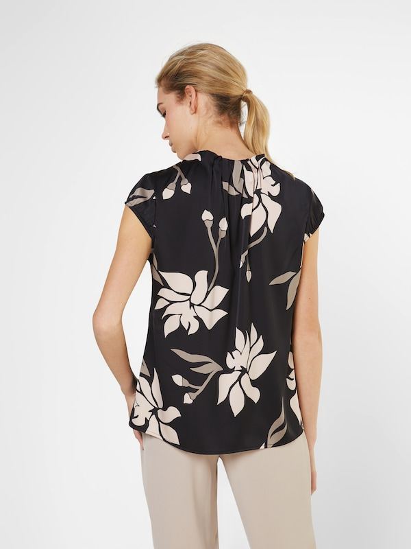 COMMA Bluse mit floralem Muster