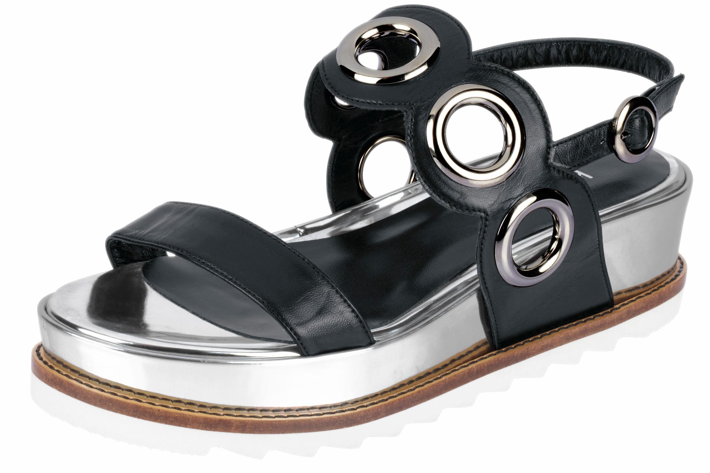 heine Sandalette mit Plateau-Sohle Günstige und langlebige Schuhe