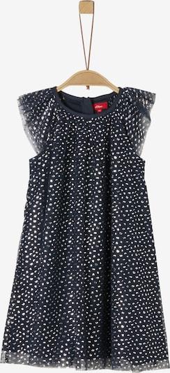 s.Oliver Junior Kleid in nachtblau / silber, Produktansicht