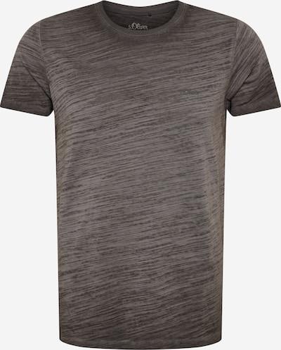 s.Oliver Shirt in anthrazit, Produktansicht