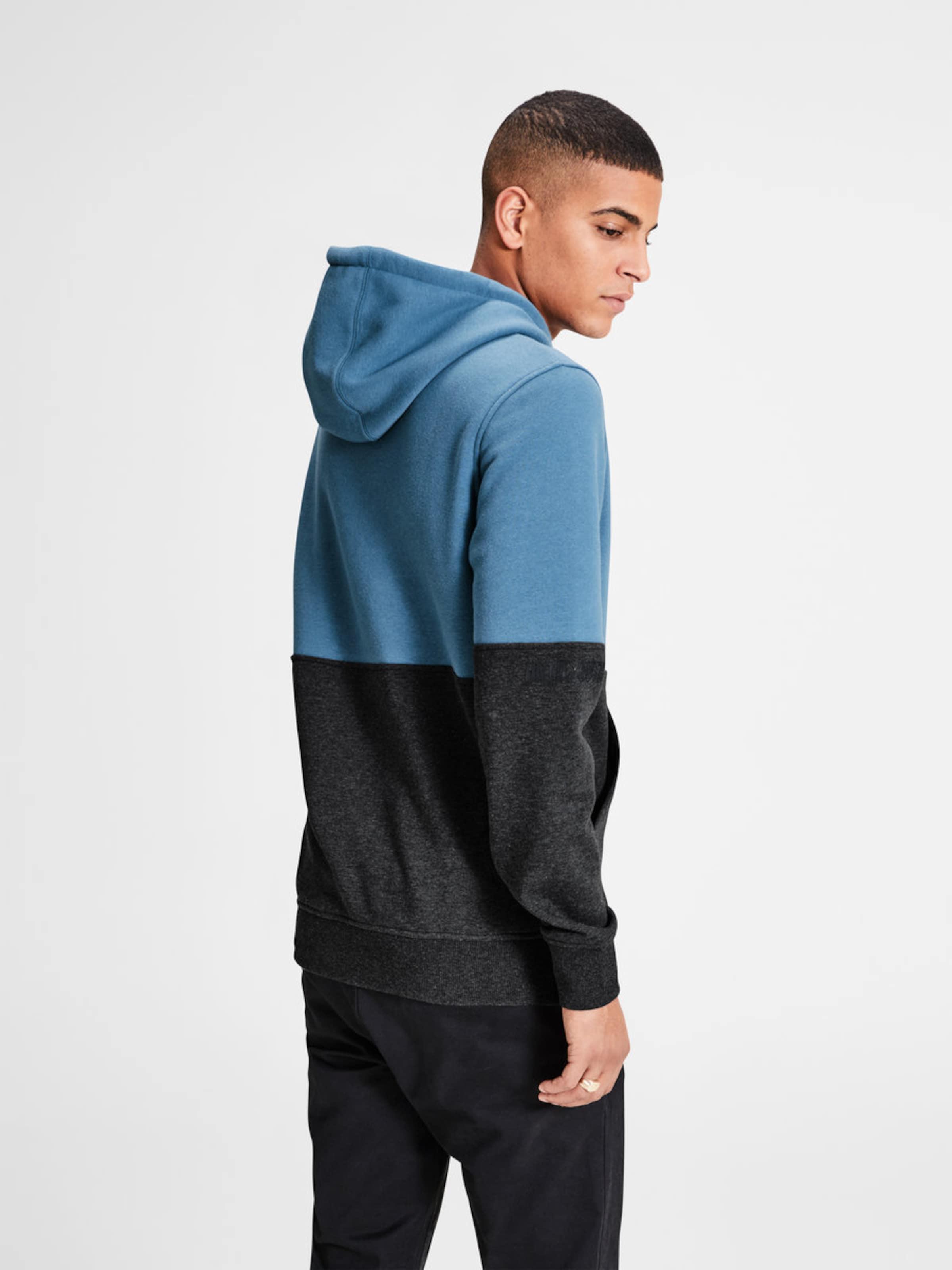Frei Versendende Qualität Niedriger Preis JACK & JONES Sweatshirt Colour-Blocking Empfehlen Online Billigpreisnachlass Authentisch WF9vF