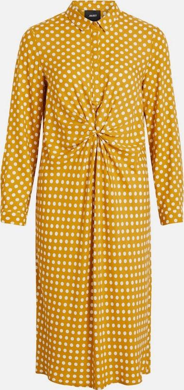 OBJECT Kleid in Goldgelb   weiß  Neue Kleidung in dieser Saison