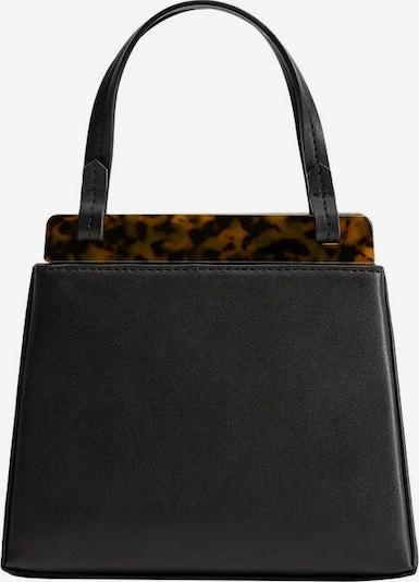 MANGO Handtas in de kleur Bruin / Zwart, Productweergave