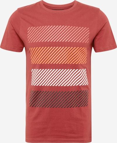 !Solid Tričko 'Leo' - oranžová / růže / grenadina / černá / bílá, Produkt