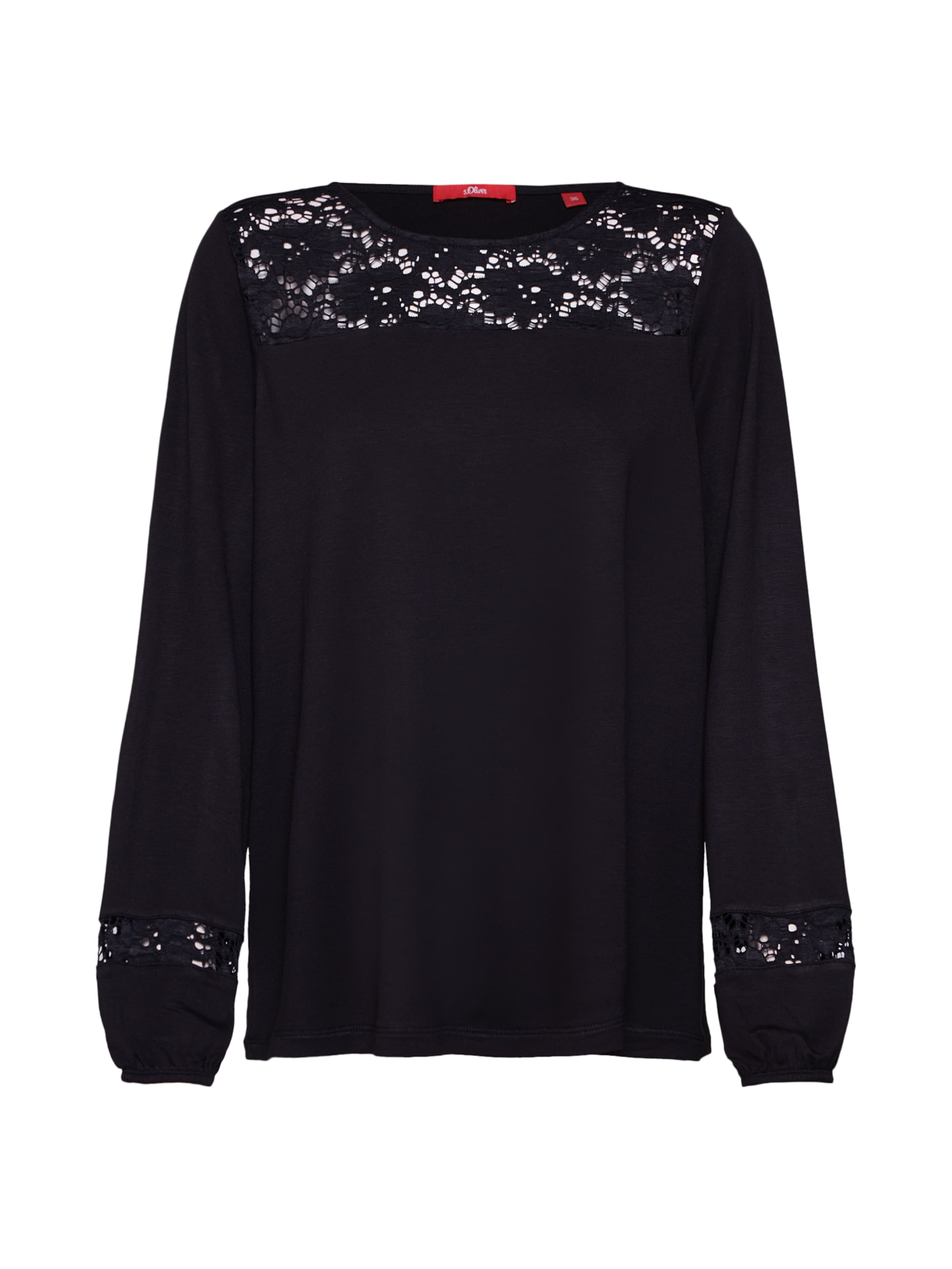 T Label shirt S Noir En oliver Red QrWCxodBe