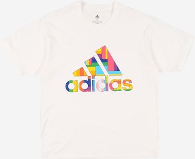 ADIDAS PERFORMANCE Funkčné tričko - zmiešané farby / biela, Produkt