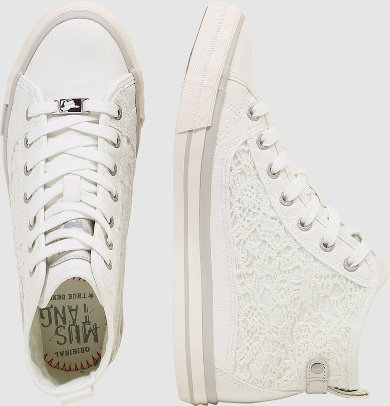 MUSTANG Sneaker Macrame Verschleißfeste billige Schuhe