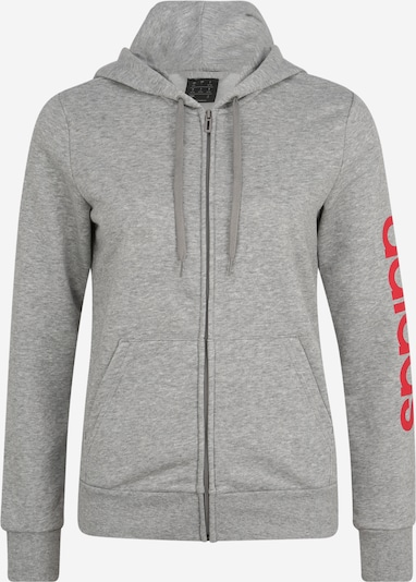 ADIDAS PERFORMANCE Sweatjacke in grau, Produktansicht