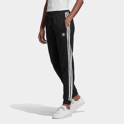 ADIDAS ORIGINALS Kalhoty - černá / bílá, Model/ka