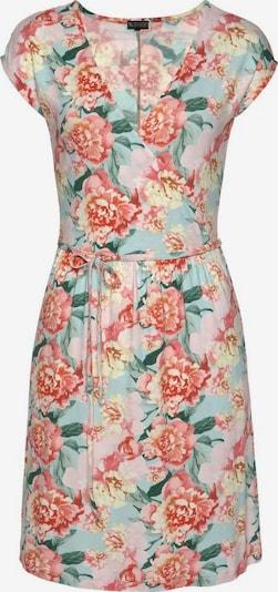 LAURA SCOTT Sommerkleid in beige / grün / mischfarben / rosé, Produktansicht