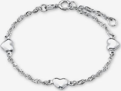 AMOR Armband 'Herz' in silber, Produktansicht