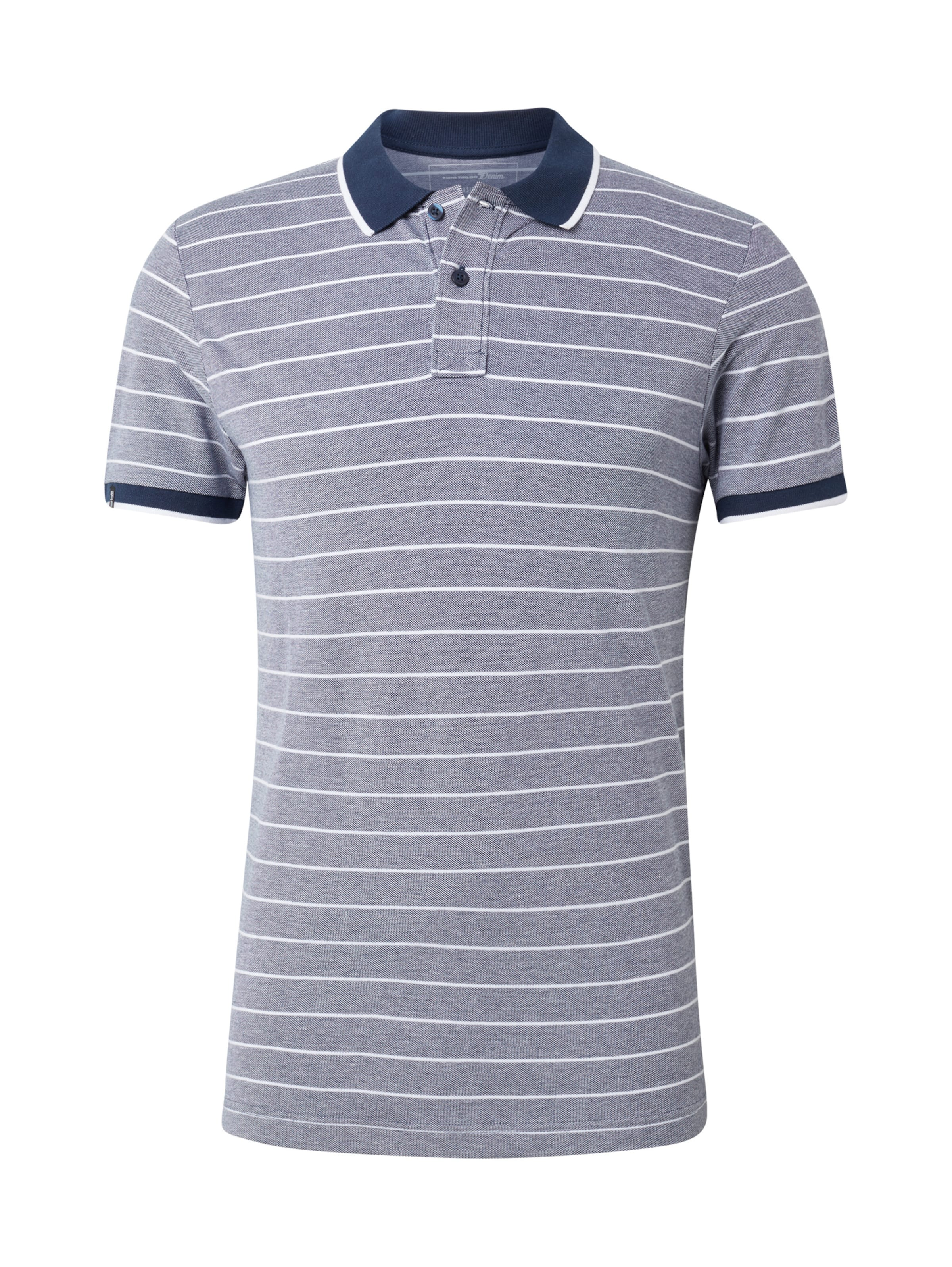 Hellgrau Denim Poloshirt In Tailor Tom kTuZwOiPX