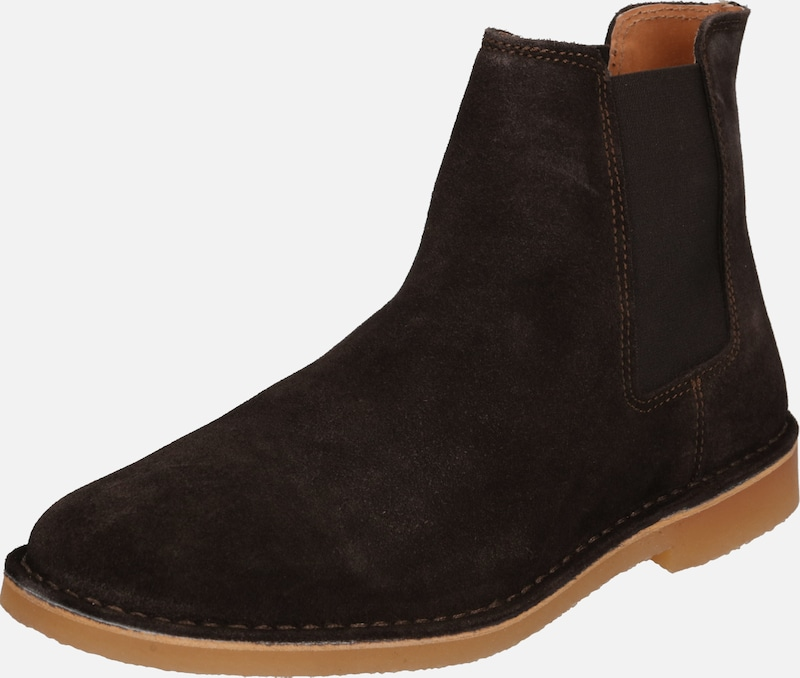 SELECTED HOMME Stiefel 'ROYCE' in dunkelbraun, Produktansicht