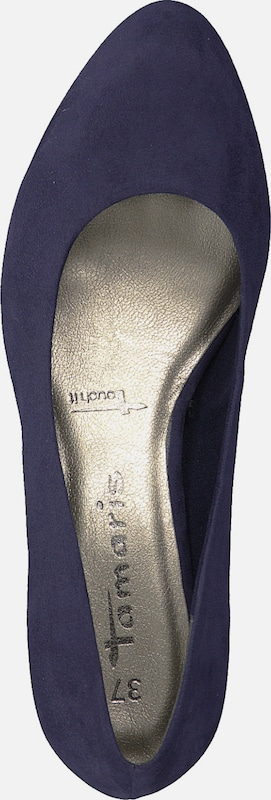 TAMARIS Pumps in navy: Draufsicht