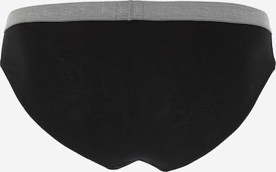 SCHIESSER Slip in grau / schwarz: Rückansicht