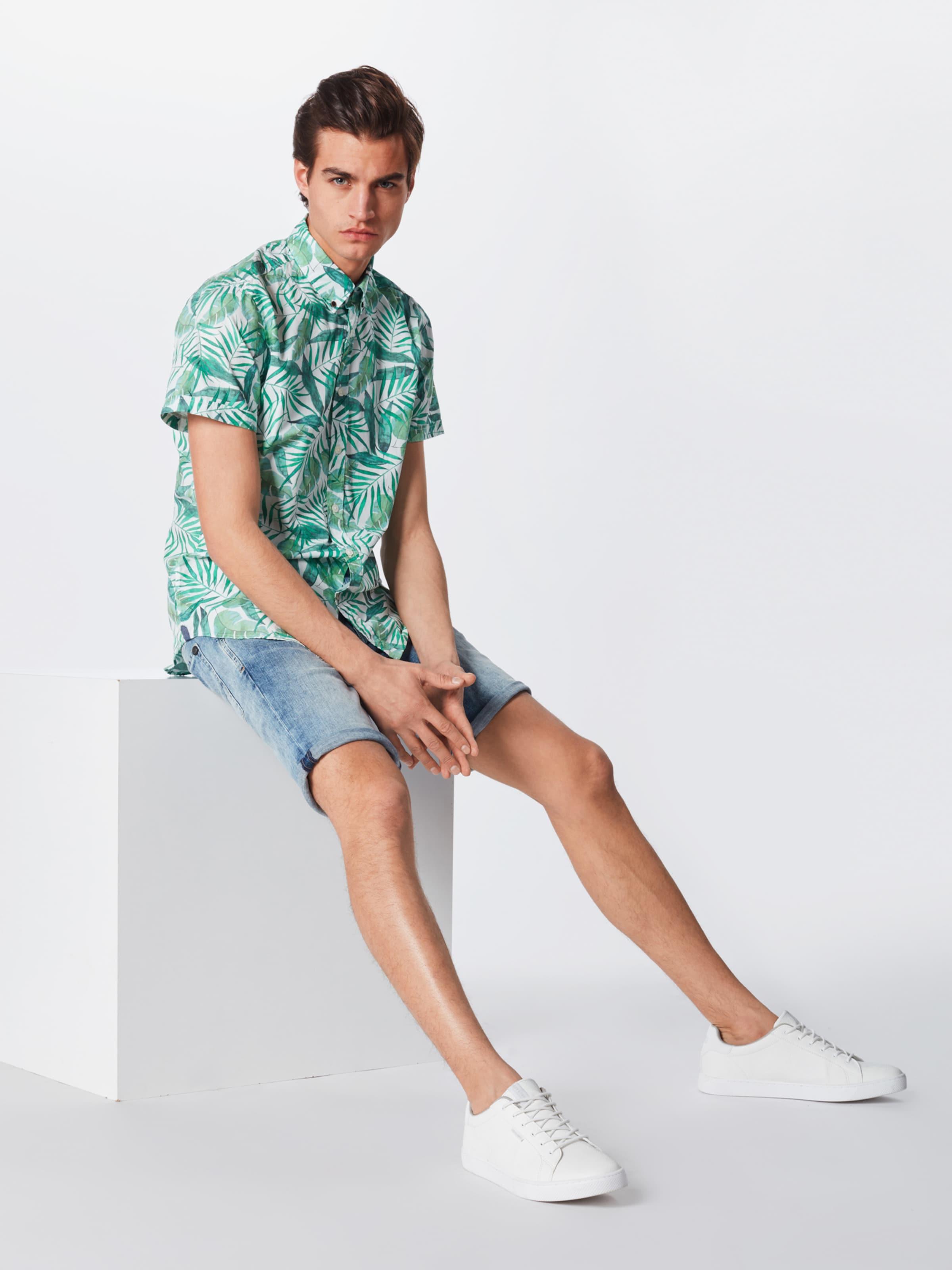 'allan' Pepe Jeans Hemd GrünWeiß In vm8nNOw0