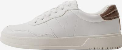 Sneaker low VIOLETA by Mango pe maro închis / alb amestacat, Vizualizare produs