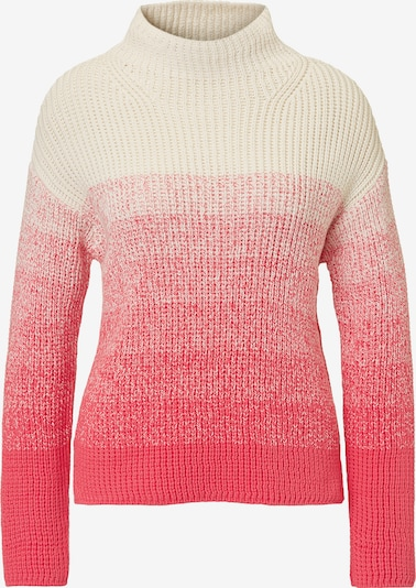 Marc O'Polo Pullover in pink / weiß, Produktansicht