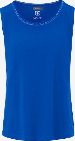 Basler Top in royalblau, Produktansicht