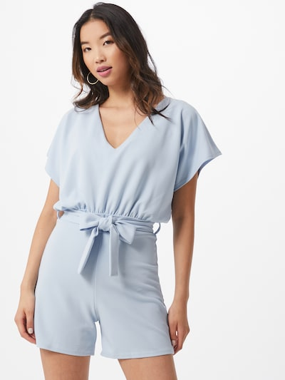 SISTERS POINT Jumpsuit in hellblau: Frontalansicht