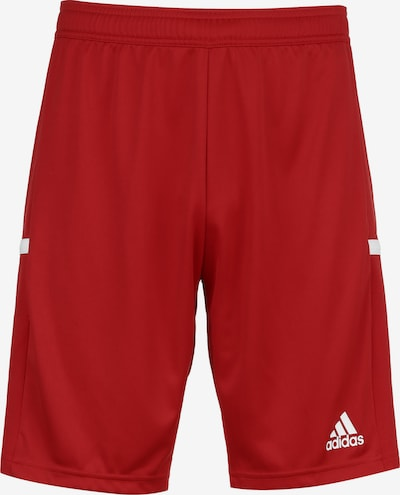 ADIDAS PERFORMANCE Team 19 Trainingsshort Herren in rot / weiß, Produktansicht