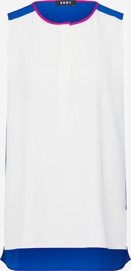 DKNY Bluse in kobaltblau / weiß, Produktansicht