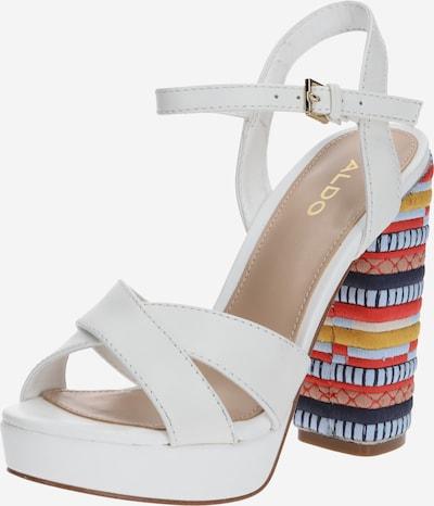 ALDO Sandalette 'VELLANVRANE' in mischfarben / weiß, Produktansicht