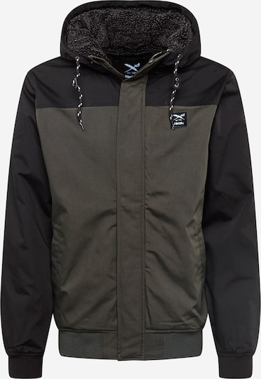 Iriedaily Φθινοπωρινό και ανοιξιάτικο μπουφάν σε λαδί / μαύρο, Άποψη προϊόντος