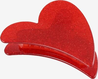 VALET Studio Haarspange 'ERIN' in rot, Produktansicht