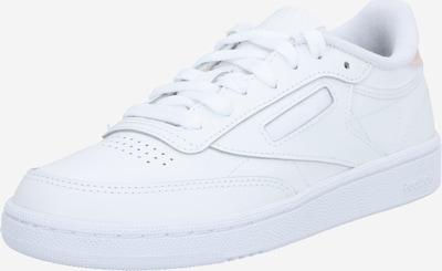 Reebok Classic Baskets basses en blanc, Vue avec produit