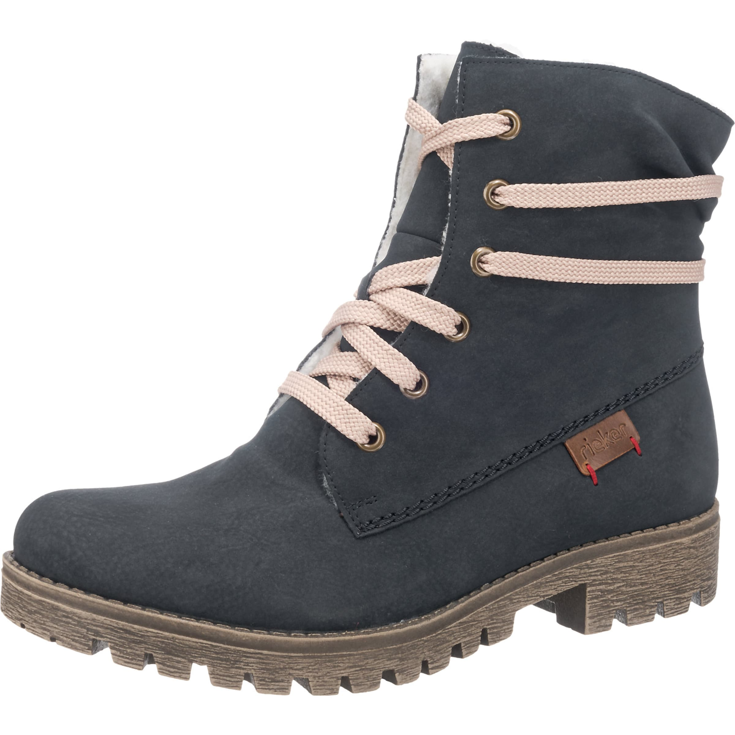 Boots Boots Rieker En Nuit En Rieker Rieker Bleu Nuit Bleu vN8Owm0n