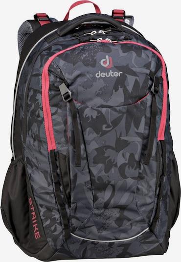 DEUTER Rucksack / Daypack ' Strike ' in grau / rot, Produktansicht