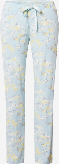 SCHIESSER Jerseyhose 'Mix+Relax' in hellblau / gelb / anthrazit / weiß, Produktansicht