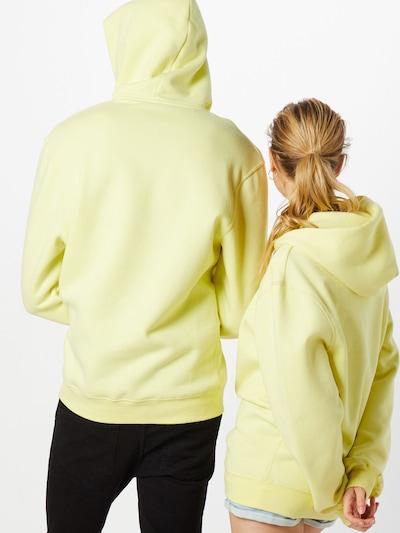 PARI Sweatshirt 'Rana' in gelb: Rückansicht