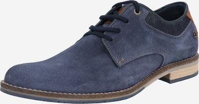 tengerészkék / barna BULLBOXER Fűzős cipő, Termék nézet
