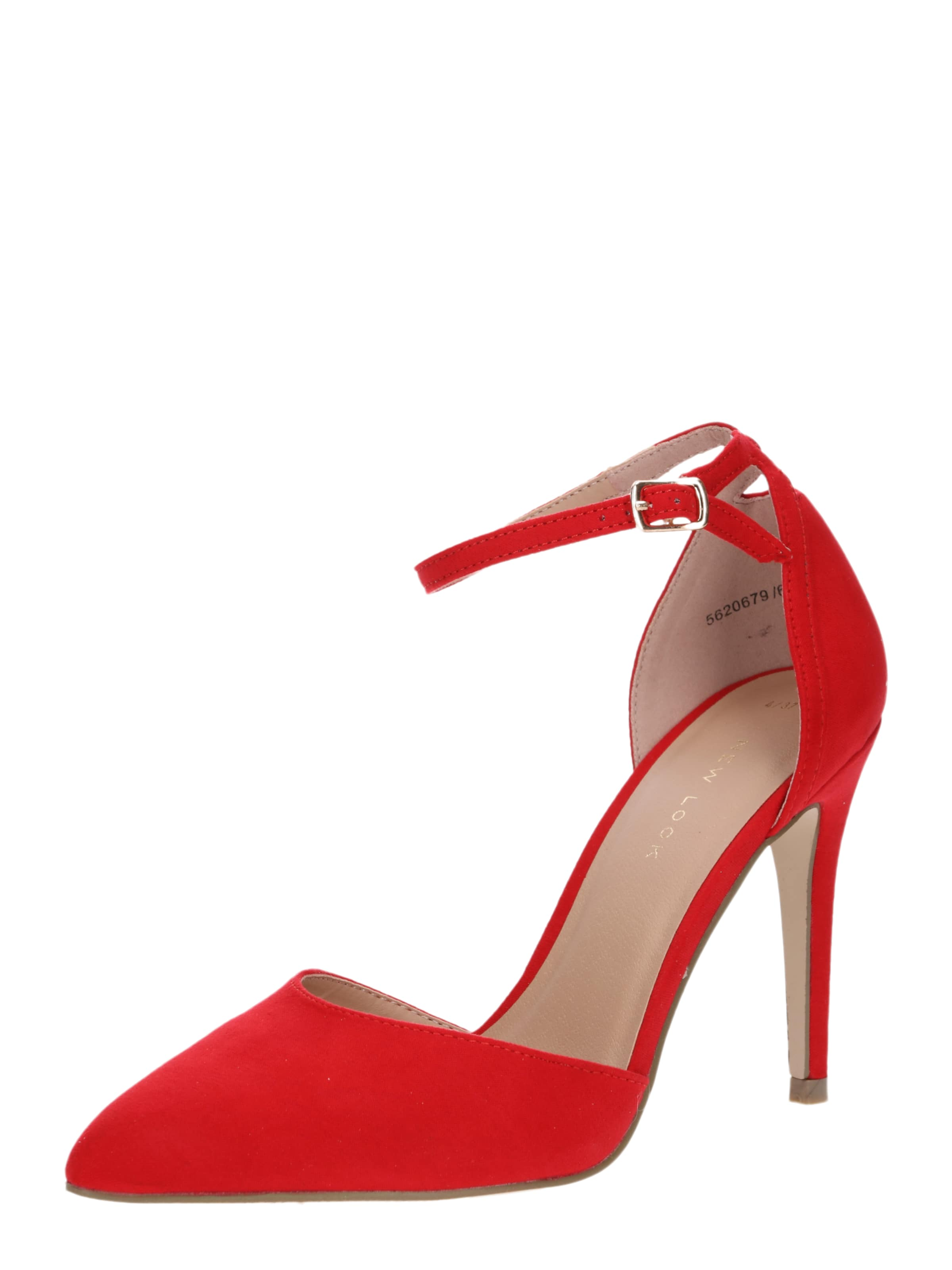 New Look Semper' 'courts En Rouge Escarpins SpUVqMz