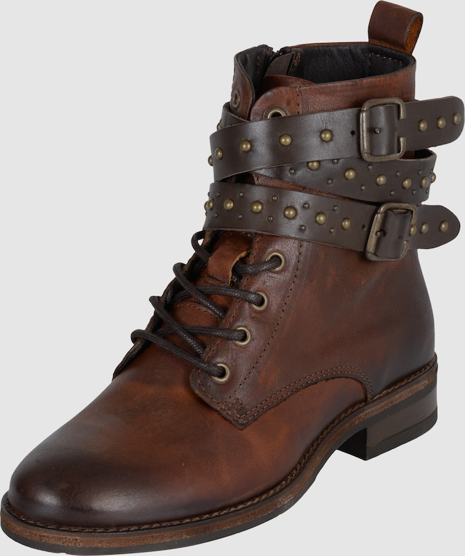 BUFFALO Boots 'Bootie Laces Belts Studs'