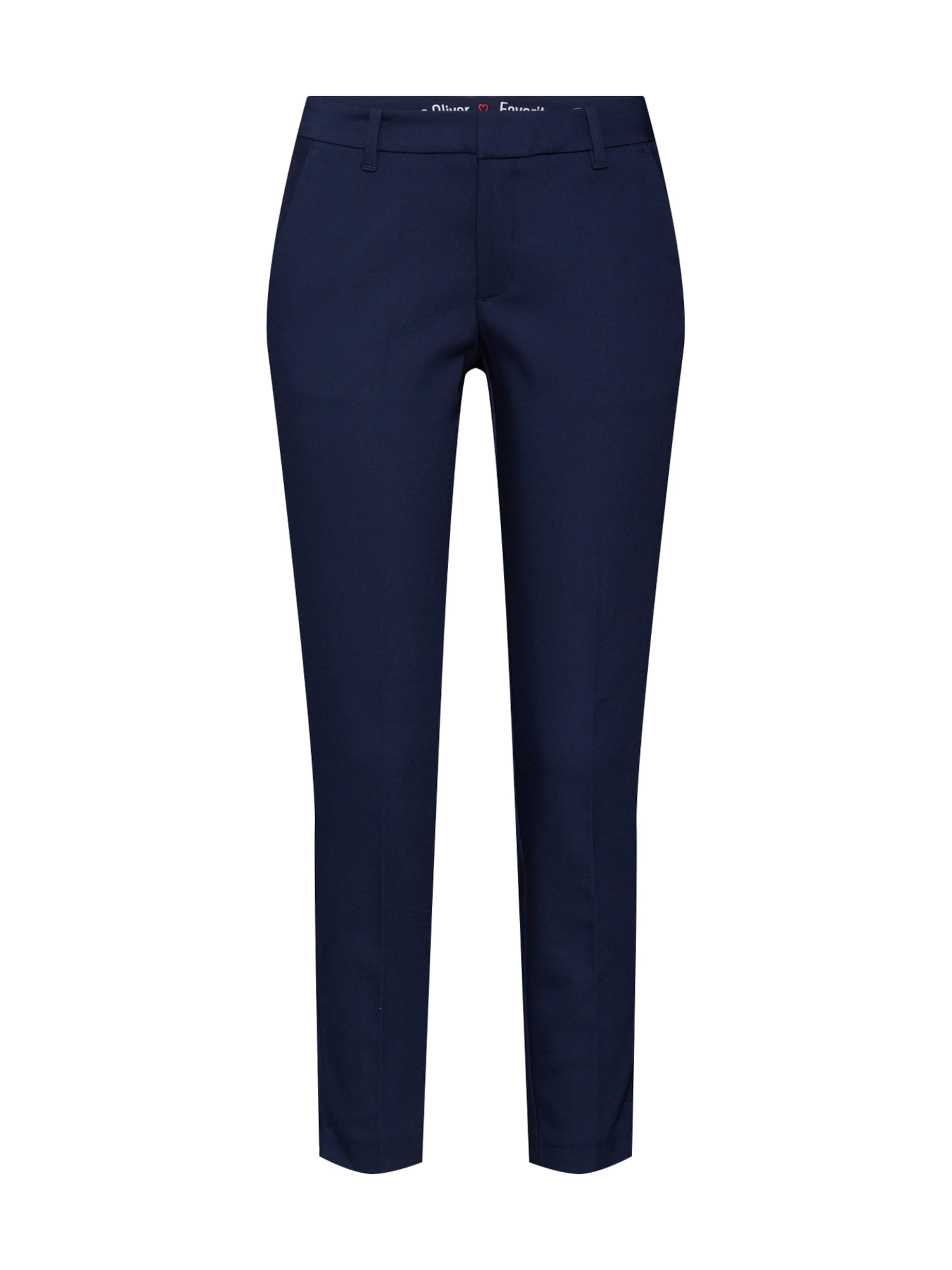 S Label Pantalon oliver Plis À Marine Bleu Red En TKclJF1