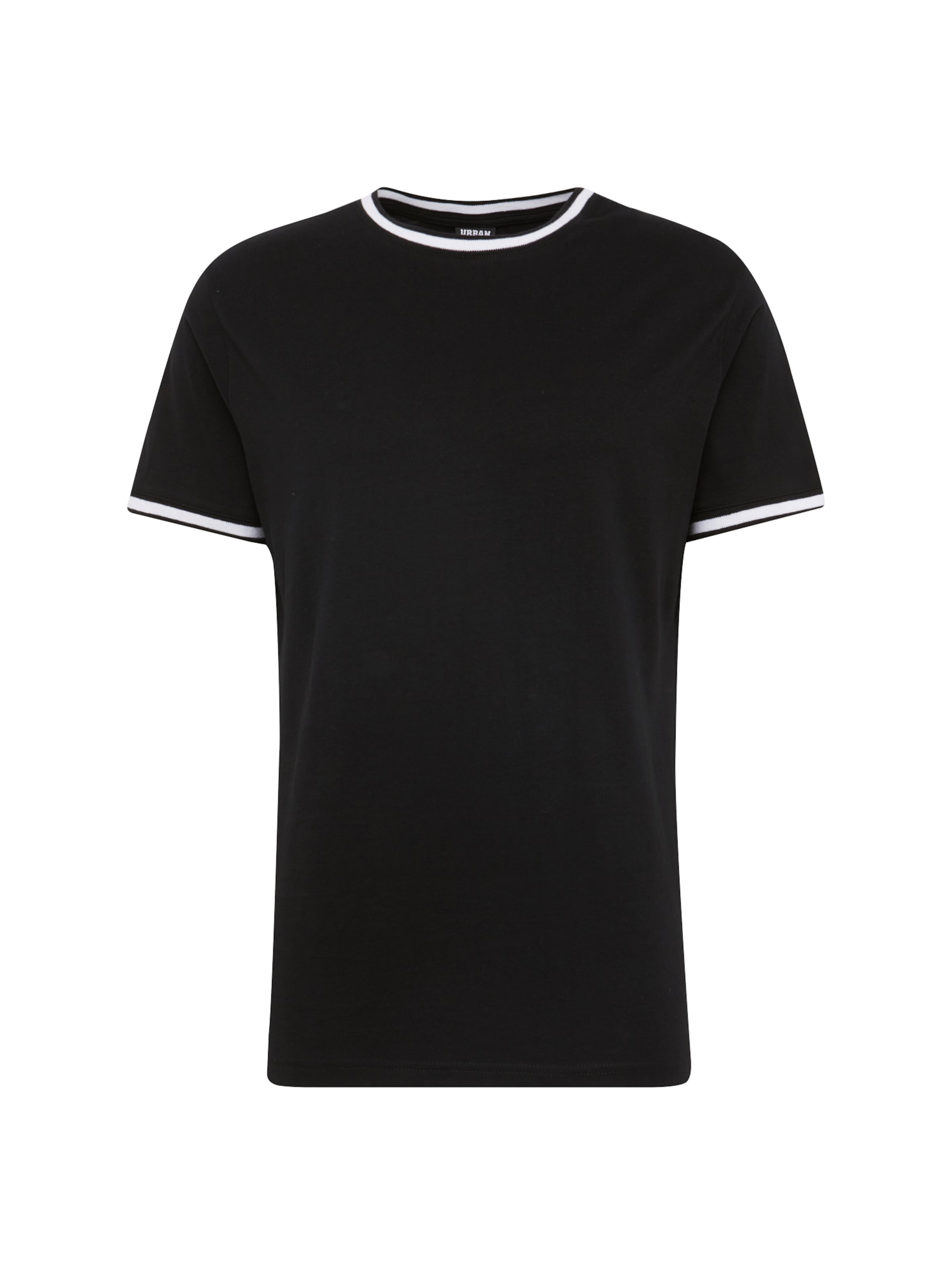 Pocket En Urban T 'collage Classics shirt Tee' NoirBlanc vmN8n0wO