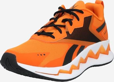 Reebok Classic Sneaker in orange / schwarz, Produktansicht