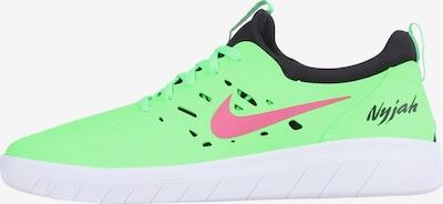 Nike SB Sneaker 'Nyjah Free' in grün / schwarz, Produktansicht
