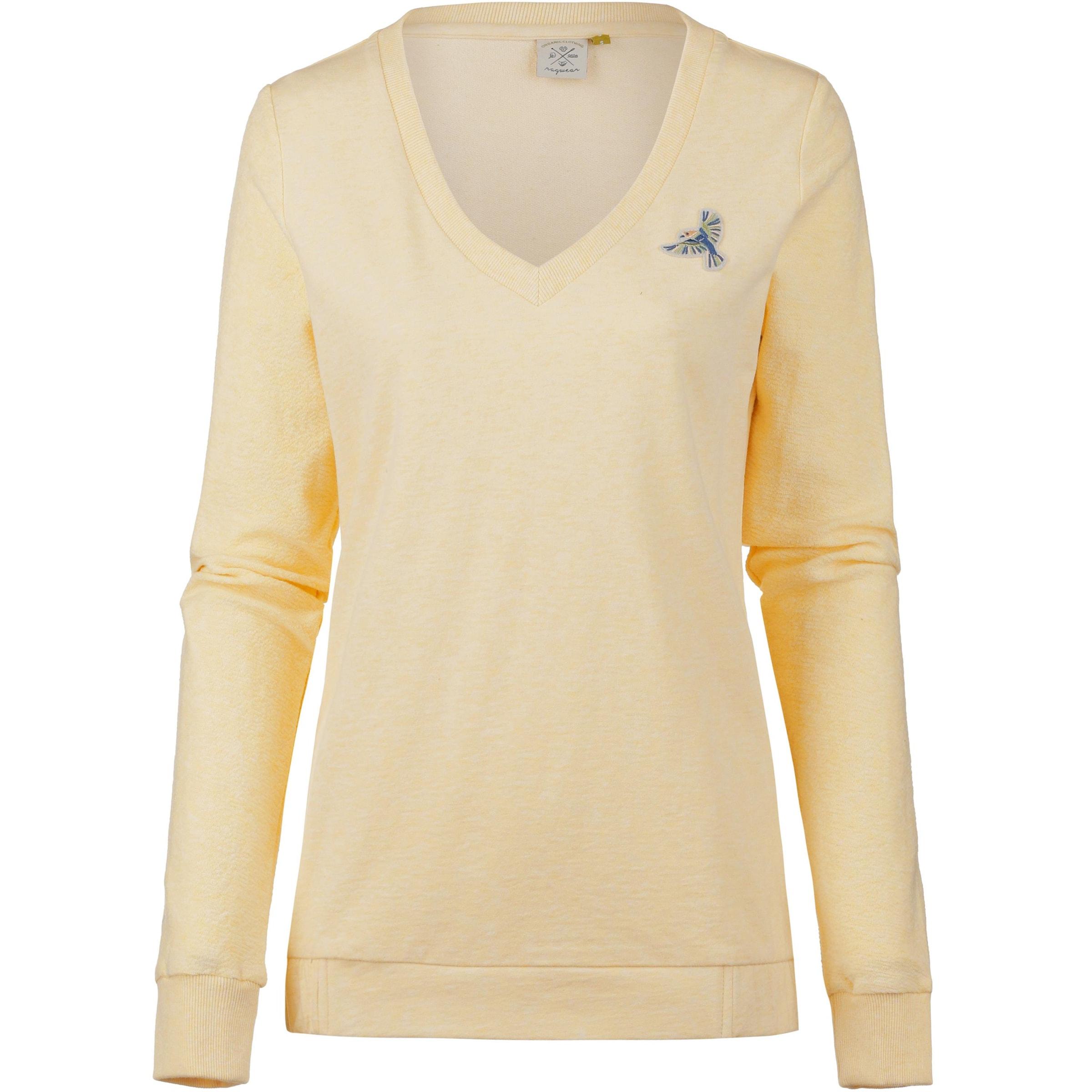 Ragwear In Ragwear 'nelin' Pastellgelb Sweatshirt 8XnwPk0O