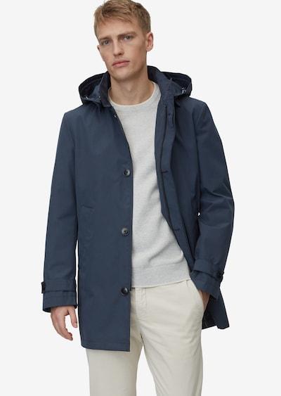 Marc O'Polo Manteau mi-saison en bleu foncé, Vue avec modèle
