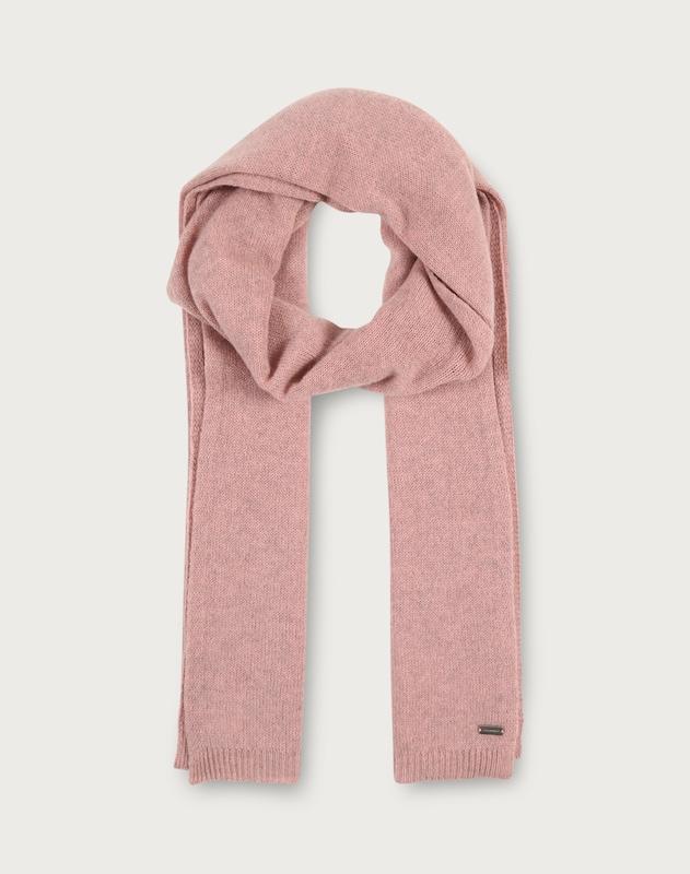 REPEAT Softer Schal in Melange-Design