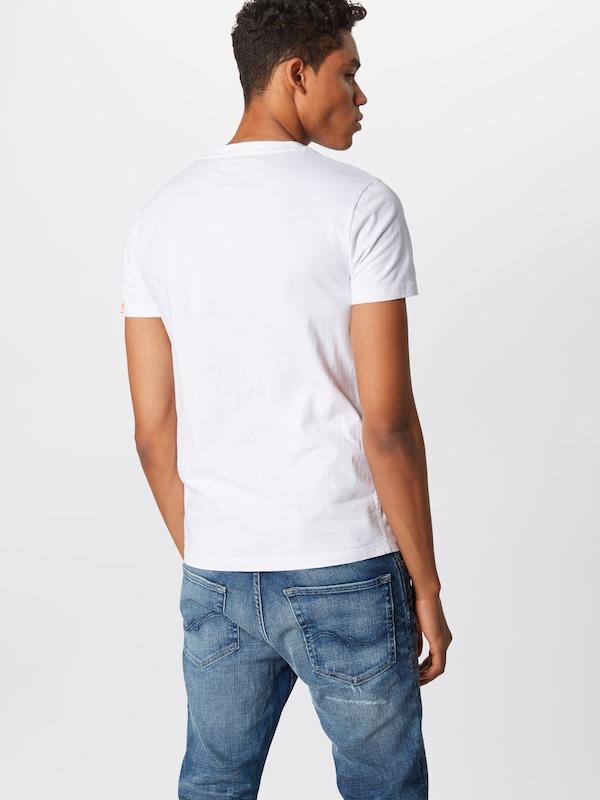 En Blanc Superdry T T Blanc shirt shirt Superdry Superdry En H2IED9
