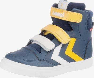 Hummel Sneakers 'Stadil Pro' in navy / gelb / weiß, Produktansicht