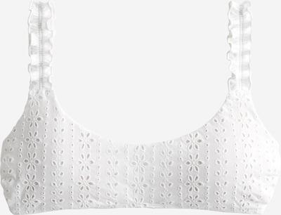 HOLLISTER Bikinitop in de kleur Wit, Productweergave